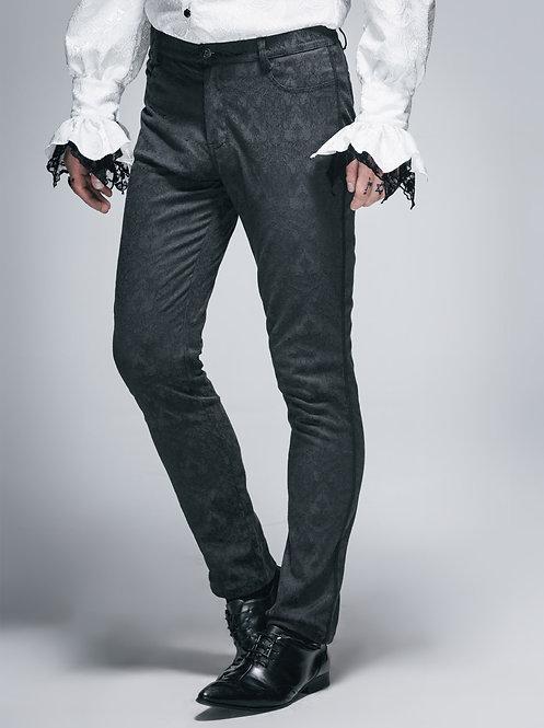 Pantalons brocart