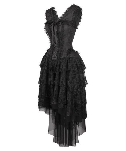 Robe de bal Ophelia noire