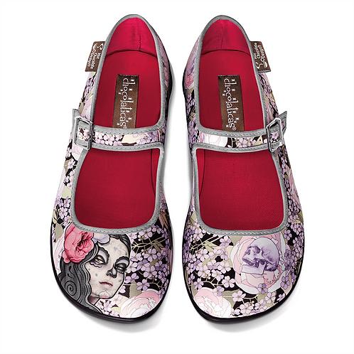 Chaussures ''Flora de le Muerte''