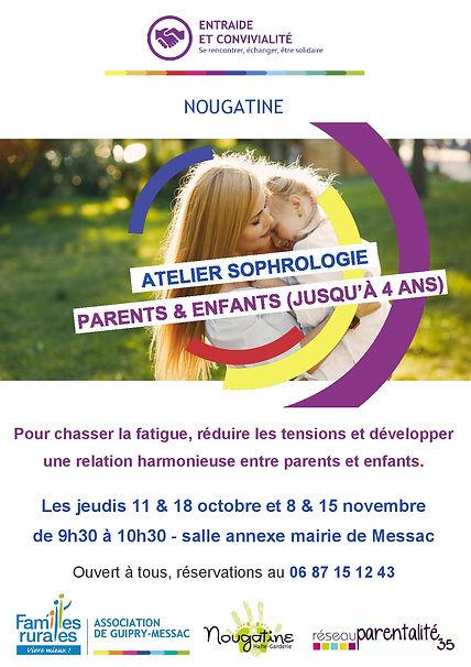 Affiche sophrologie parents enfants-page