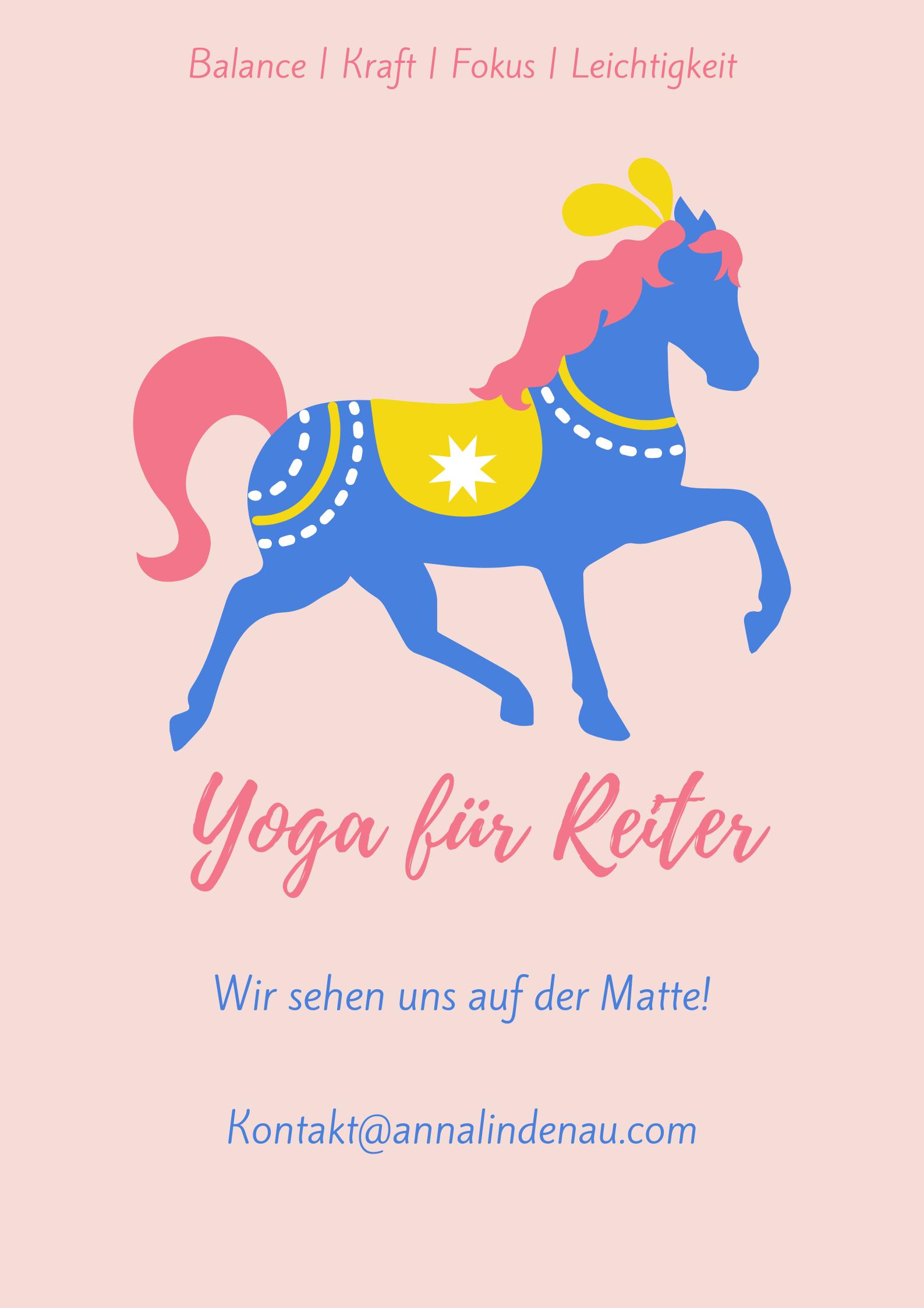 Yoga Workshop für Reiter