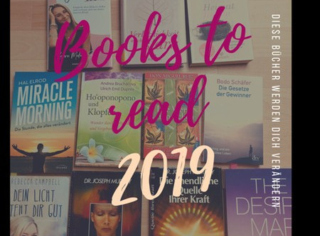 Diese Bücher verändern dein Leben - Must read in 2019