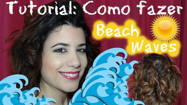 Tutorial: Como fazer Beach Waves em cabelo curto