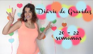Diário de Gravidez | 2 º Trimestre | 20 às 22 semanas
