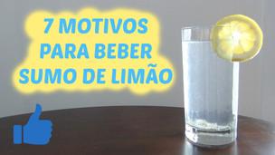 7 Motivos para BEBER SUMO DE LIMÃO (todas as manhãs) | VEDA#02