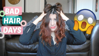 4 penteados para BAD HAIR DAYS #02 | Cabelos médios | VEDA#08