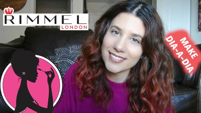 Maquilhagem com produtos do supermercado RIMMEL LONDON | VEDA#22