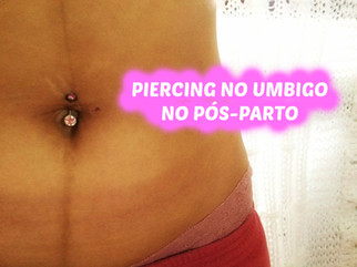 Como recolocar piercing no umbigo (pós-parto) | Dicas, como desinfectar | VEDA#20
