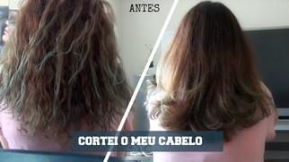 Transformação no meu cabelo #01   CORTEI O CABELO?!