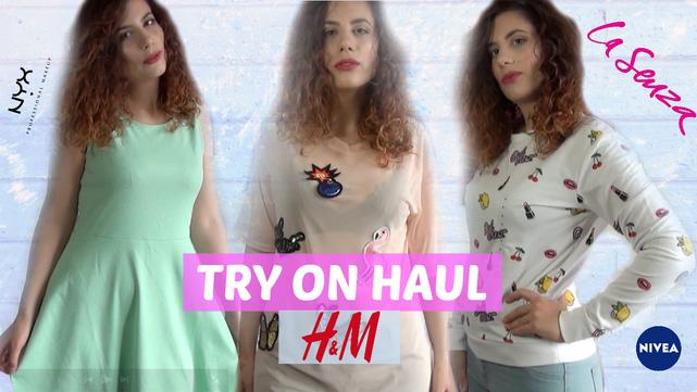 SPRING TRY ON HAUL 2017   H&M Sales, La Senza, Nyx Cosmetics, L'oreal, Nivea