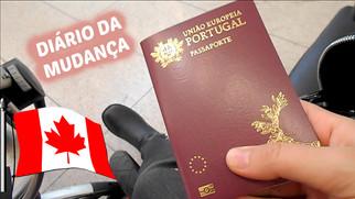 Diário da Mudança #02   VLOG: Buscar passaporte, Compras para o frio   VEDA#26