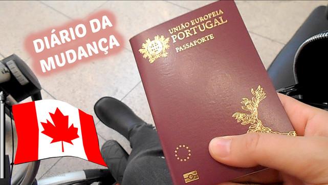 Diário da Mudança #02 | VLOG: Buscar passaporte, Compras para o frio | VEDA#26