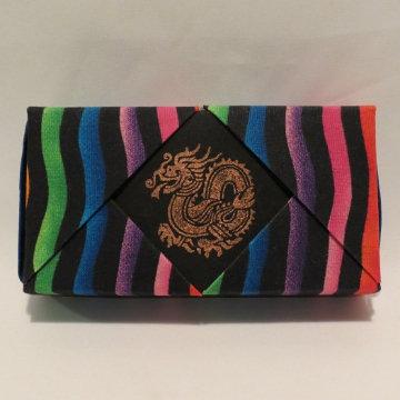 Rectangle - Matchbox, Color Striations, Dragon