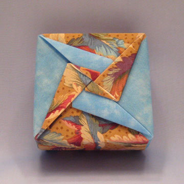 Square - Pinwheel, Colorful Feathers and Sky Blue