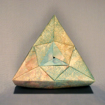 Triangle - Shield, Pastel Sheen
