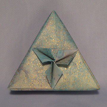 Triangle - Spades, Pastel Sheen
