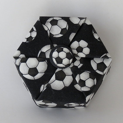 Hexagon - Button, Soccer Balls