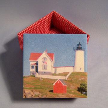 Square - Masu, Nubble Lighthouse