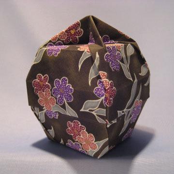 Lamp Bowl - Knob, Violets Green