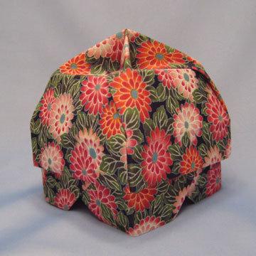 Lamp Bowl - Hut, Asian Blossoms