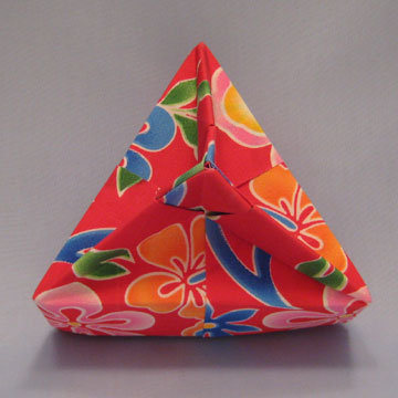 Triangle - Knob, Tropics Floral