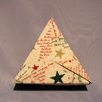 Triangle - Plain, Season Greetings