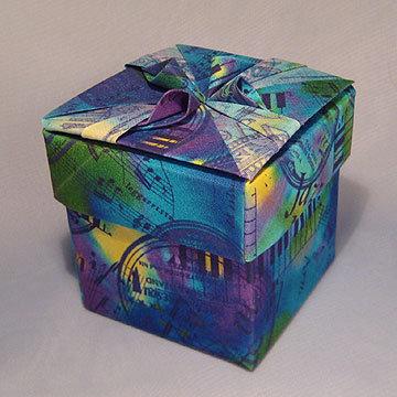 Cube - Cones, Blue Jazz