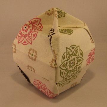 Lamp Bowl - Knob, Pink Rosettes