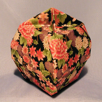 Lamp Bowl - Knob, Asian Floral