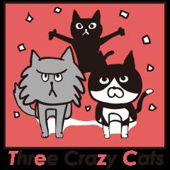 Three Crazy Cats