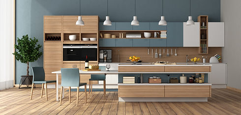 modern-kitchen-with-island-dining-table.