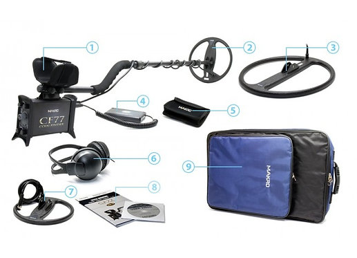 CF77 COIN FINDER PRO PACKAGE