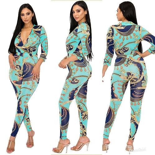 Brina 2 piece bodysuit with leggings