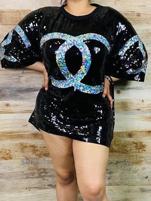 CC Sequin Top/DRESS