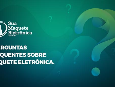 7 perguntas frequentes sobre maquete eletrônica