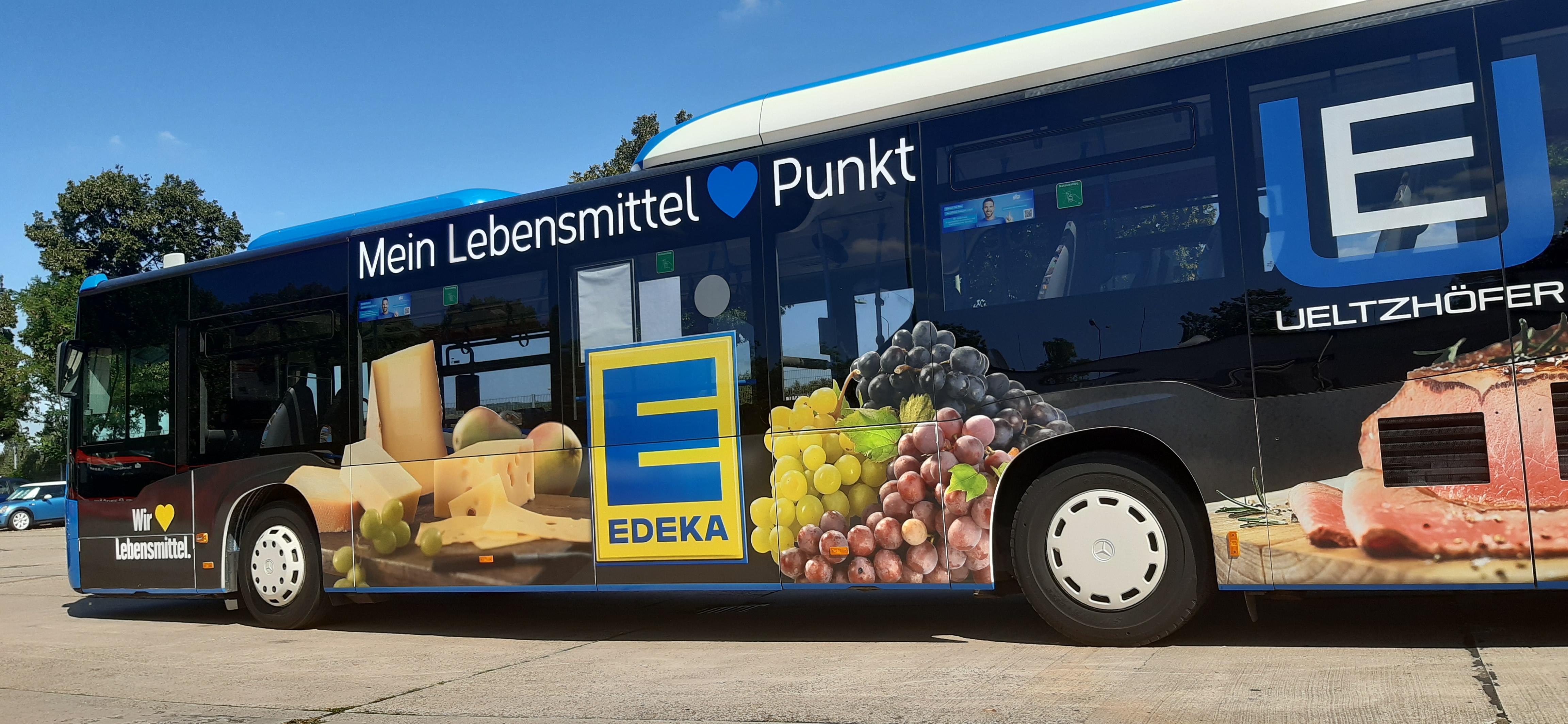 Stadtbus-Beschriftung