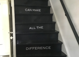 One step can make the difference
