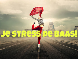 "Workshop ""Je stress de baas!"""