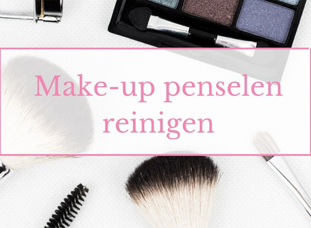 Make-up penselen reinigen