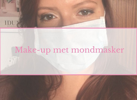 Tutorial: make-up met mondmasker