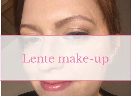 Lente make-up look