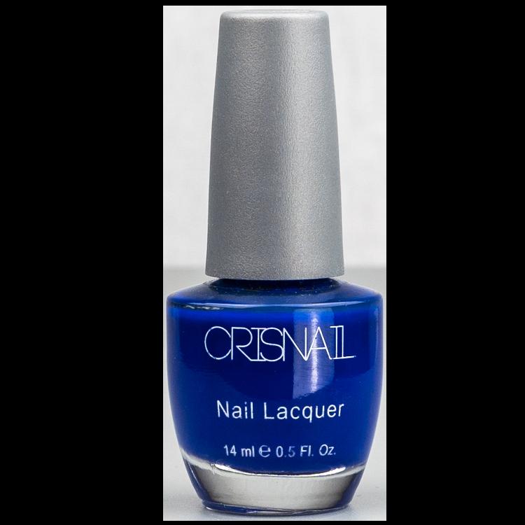 Kobaltblauwe nagellak
