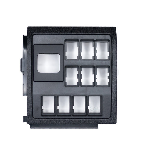 Toyota Landcruiser 200 series Switch panel (Black)