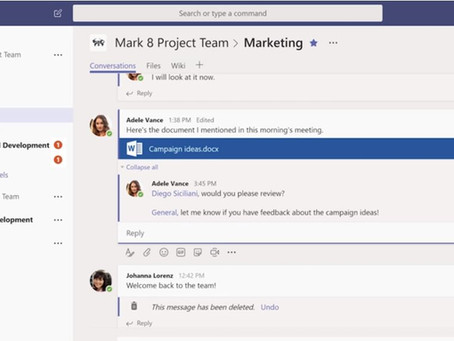 Use o Microsoft Teams para chats com uma pessoa ou um grupo
