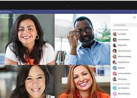 O Microsoft Teams é a sua central de reuniões