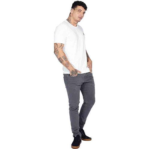 Calça Skinny R&S Color Cinza