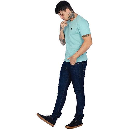 Calça Skinny Básica R&S Lavagem Escura
