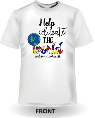Help educate the world