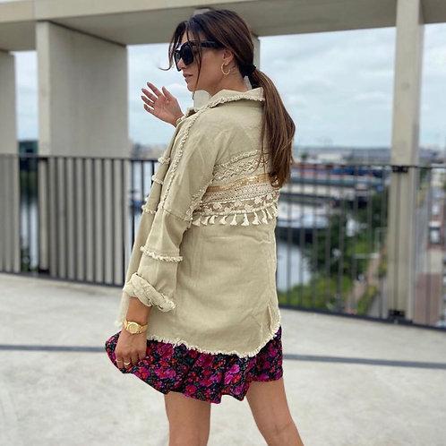 Bohemian beige jasje