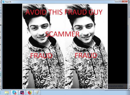 Stay Away from Al Jamil, A Fraud Guy